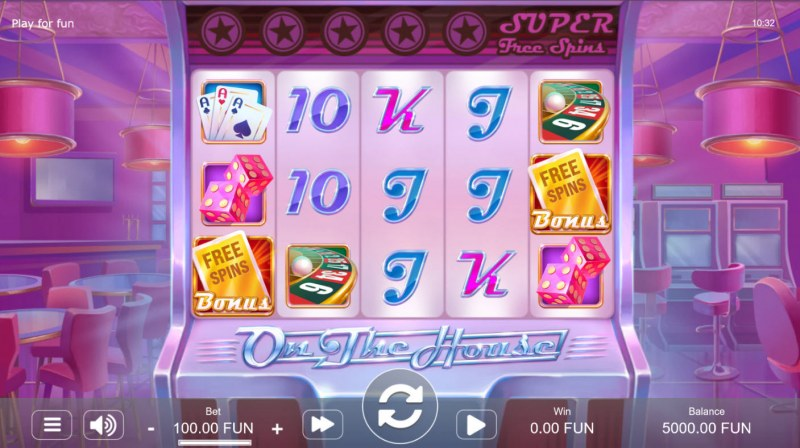 Casino on the House :: Main Game Board