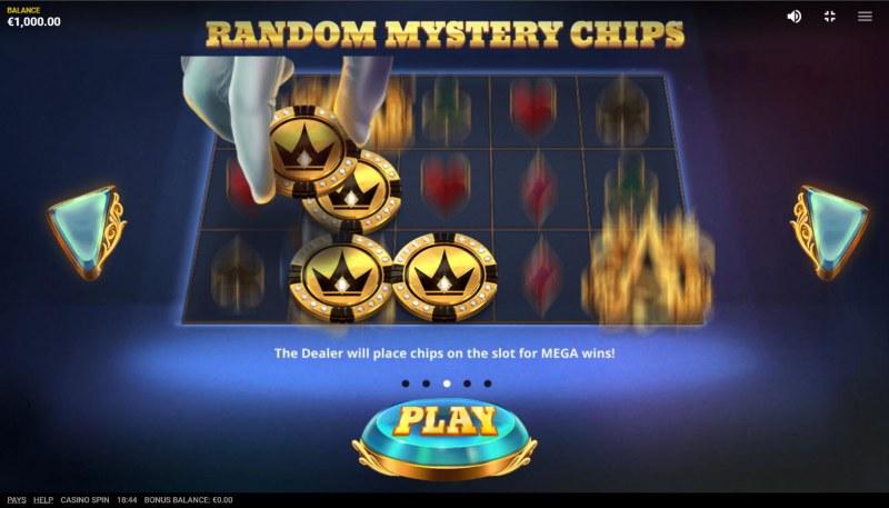 Casino Spin :: Random Mystery Chips