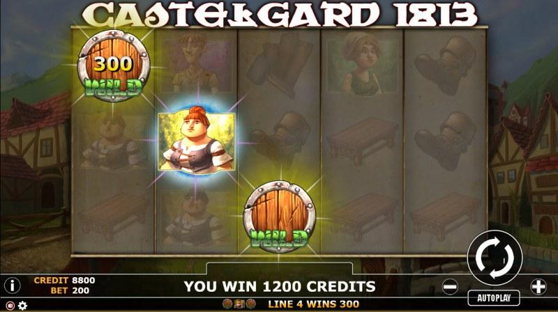 Castlegard 1813 :: Three of a kind