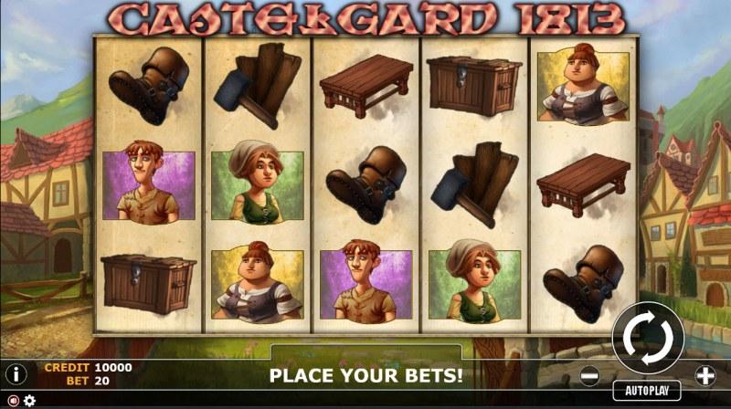 Castlegard 1813 :: Main Game Board