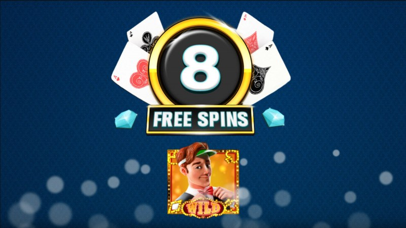 Catch the Gold :: 8 Free Spins Awarded