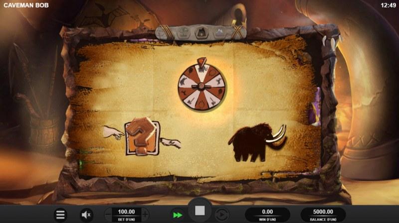 Caveman Bob :: Select one feature