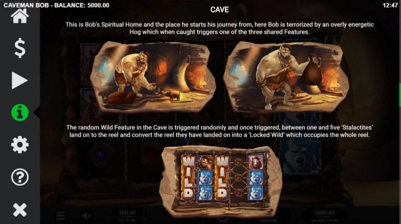 Caveman Bob :: Cave