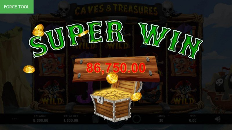 Caves & Treasures :: Super Win