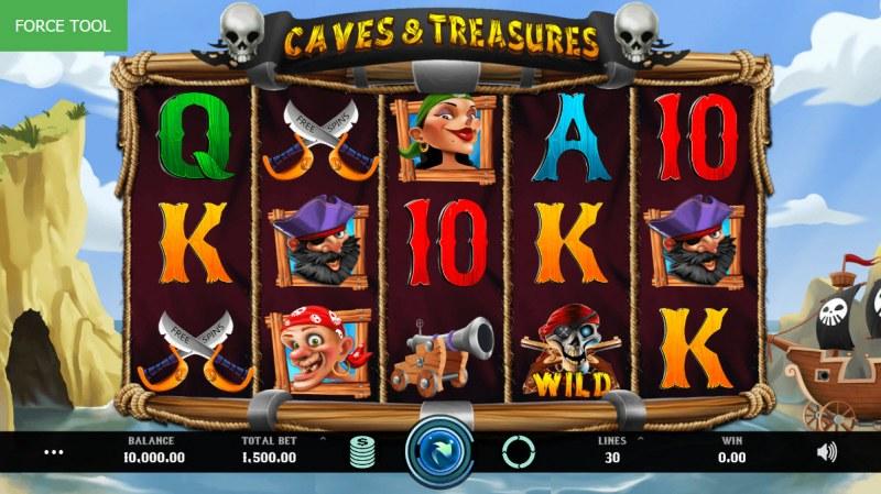 Caves & Treasures :: Main Game Board