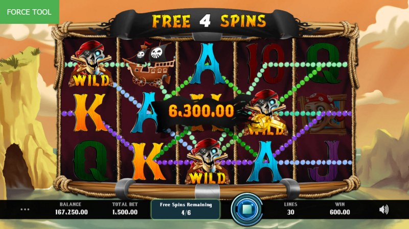 Caves & Treasures :: Multiple winning paylines