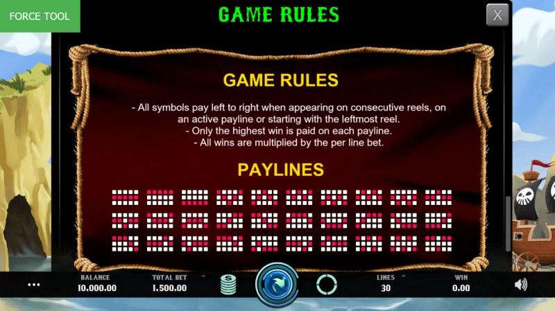 Caves & Treasures :: General Game Rules