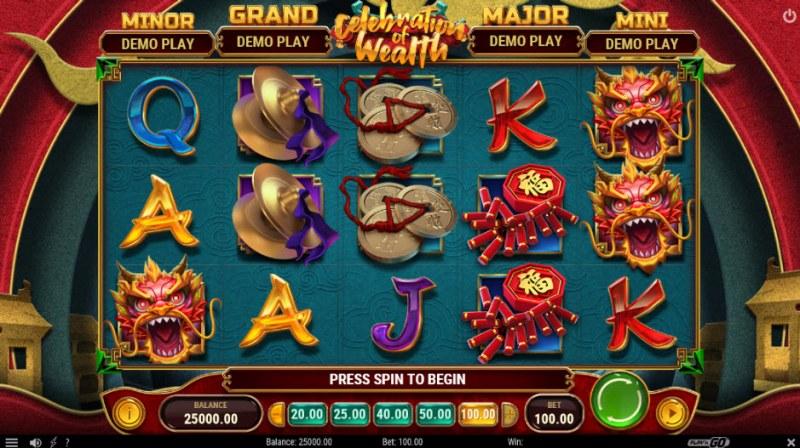 Celebration of Wealth :: Main Game Board