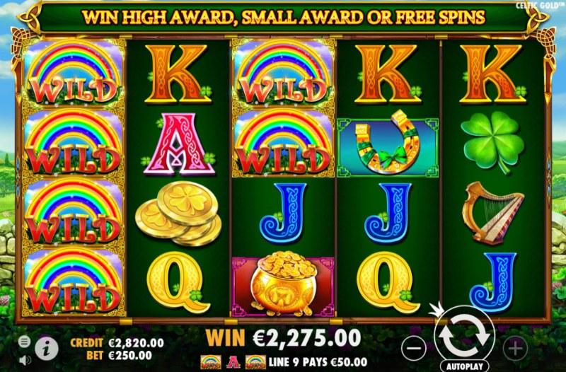 Celtic Gold :: Four of a kind