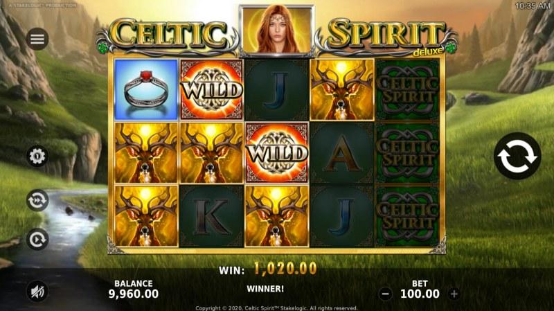 Celtic Spirit Deluxe :: Multiple winning paylines