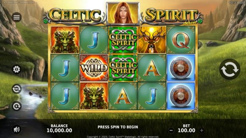 Celtic Spirit Deluxe :: Main Game Board