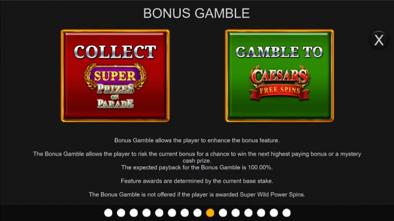 Centurion Megaways :: Bonus Gamble