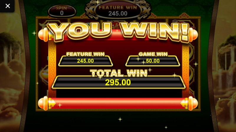 Chai Shen 888 :: Total free spins payout