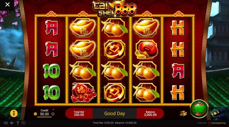 Chai Shen 888 :: Main Game Board