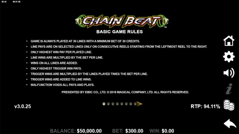 Chain Beat :: General Game Rules