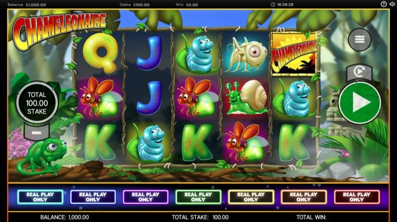 Chameleonaire :: Main Game Board