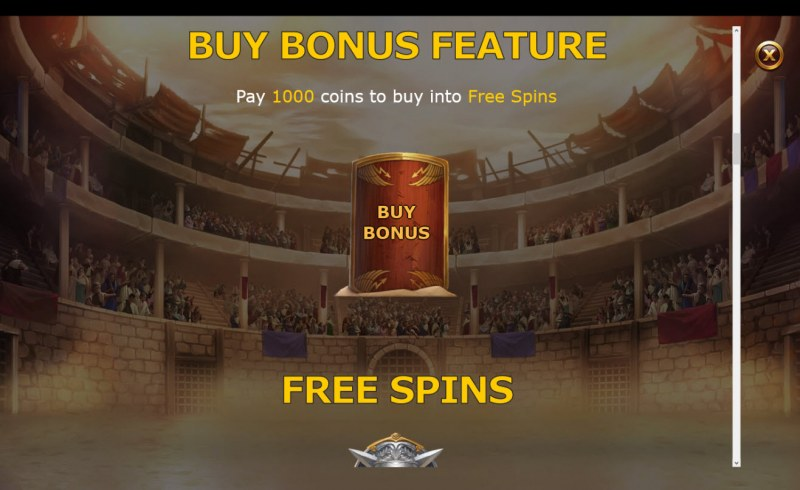 Champions of Rome :: Buy Bonus Feature
