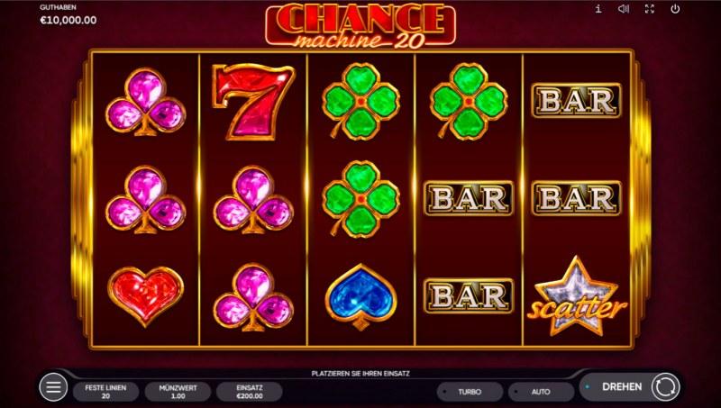 Chance Machine 20 :: Main Game Board