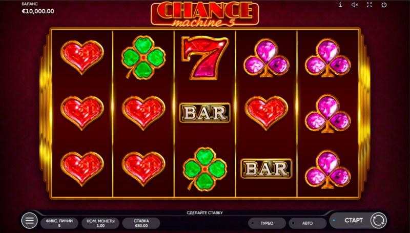 Chance Machine 5 :: Base Game Screen
