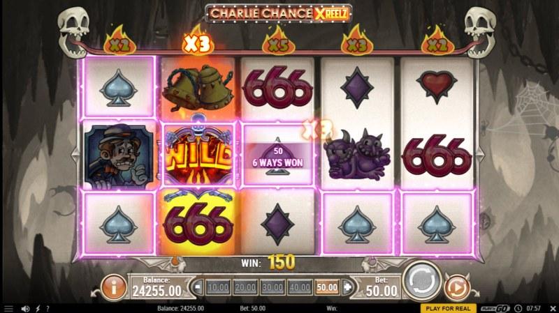 Charlie Chance Xreelz :: X3 Win Multiplier