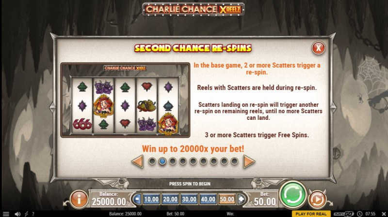 Charlie Chance Xreelz :: Second Chance Re-Spin