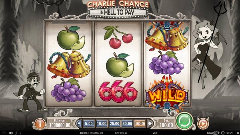 Charlie Chance :: Main Game Board