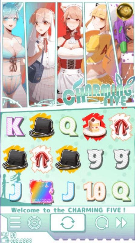 Charming 5 :: Main Game Board