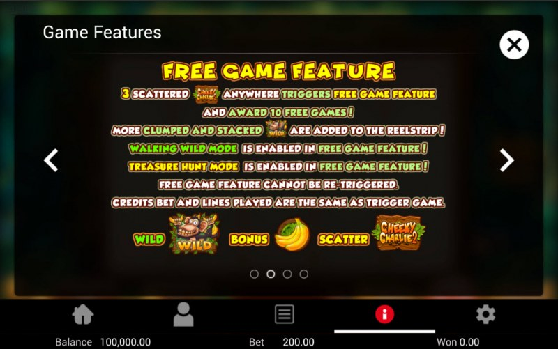 Cheeky Charlie 2 :: Free Game Rules