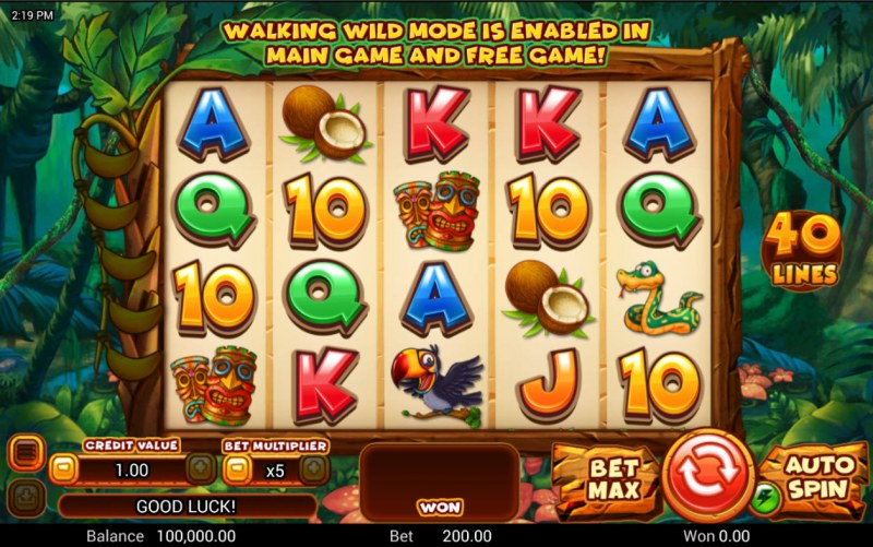 Cheeky Charlie 2 :: Base Game Screen