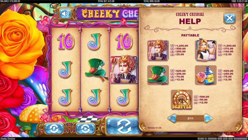 Cheeky Cheshire :: Paytable - High Value Symbols