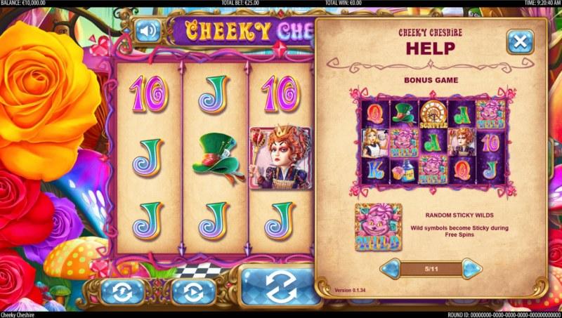 Cheeky Cheshire :: Bonus Feature