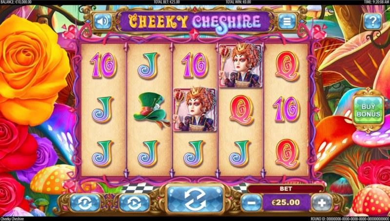 Cheeky Cheshire :: Base Game Screen