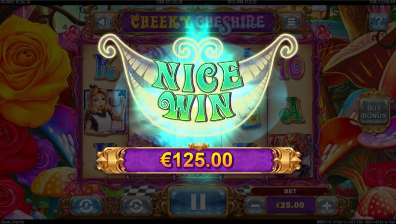 Cheeky Cheshire :: Nice Win