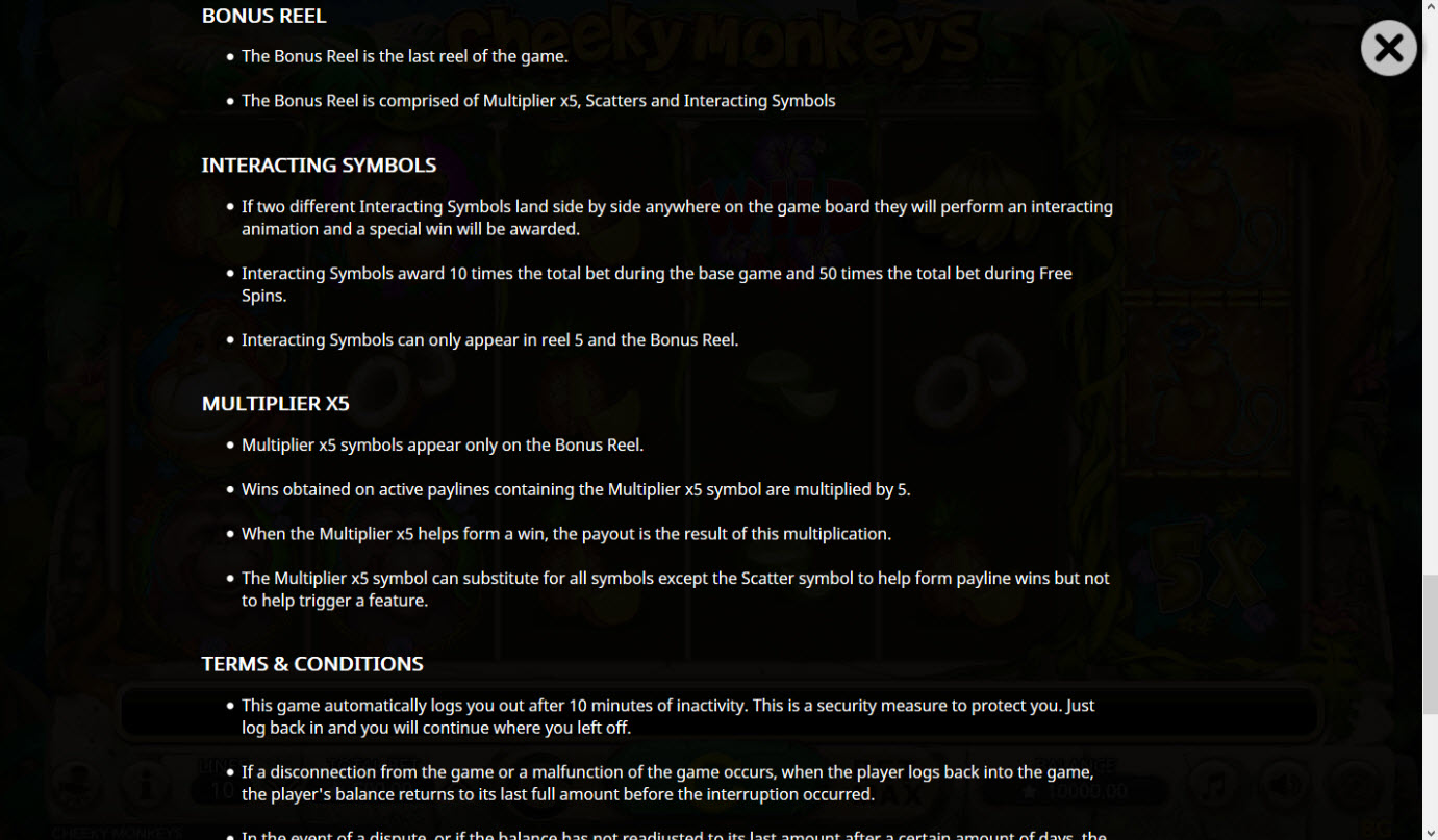 Cheeky Monkeys :: General Game Rules