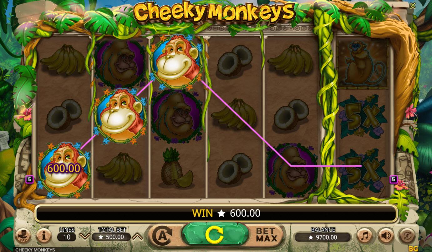 Cheeky Monkeys :: A winning three of a kind
