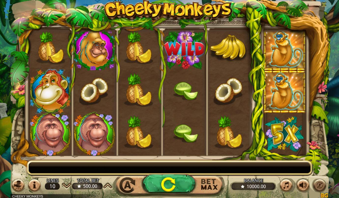 Cheeky Monkeys :: Main Game Board