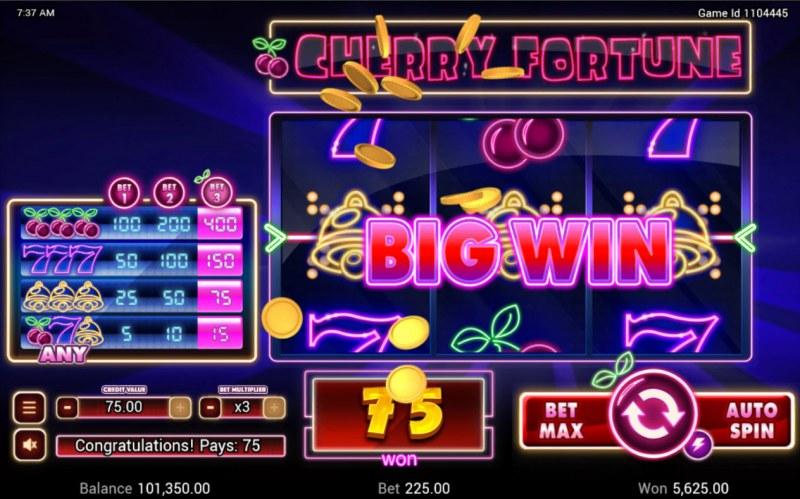 Cherry Fortune :: Big Win