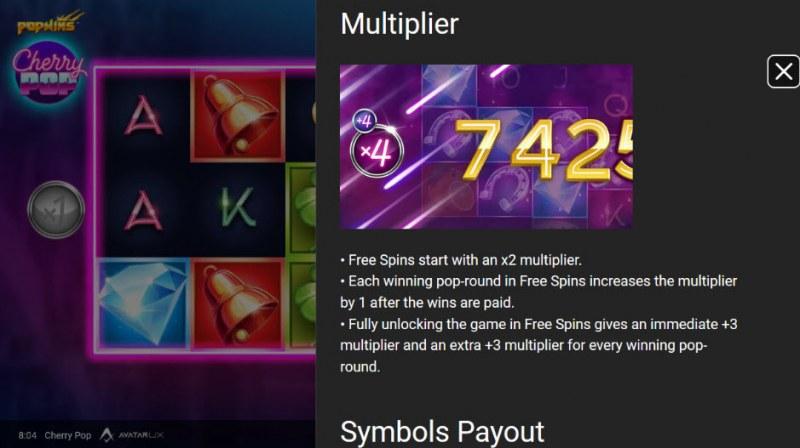 Cherry Pop :: Multiplier