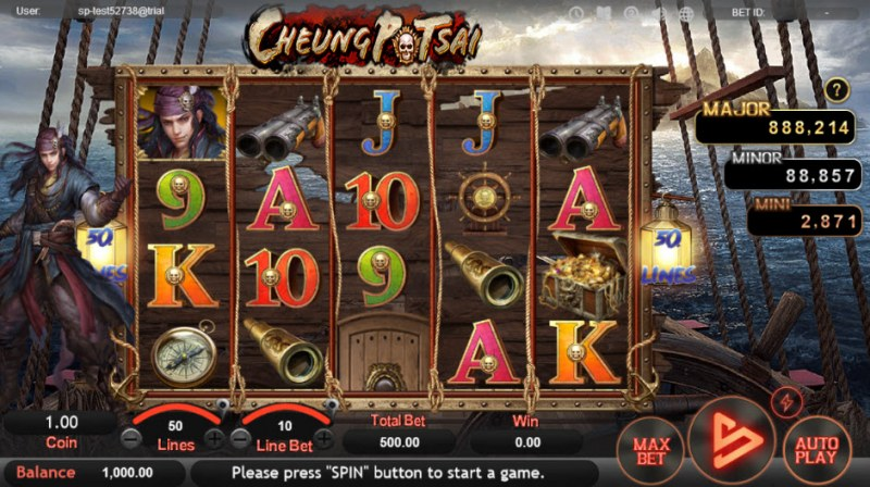 Cheung Potsai :: Main Game Board