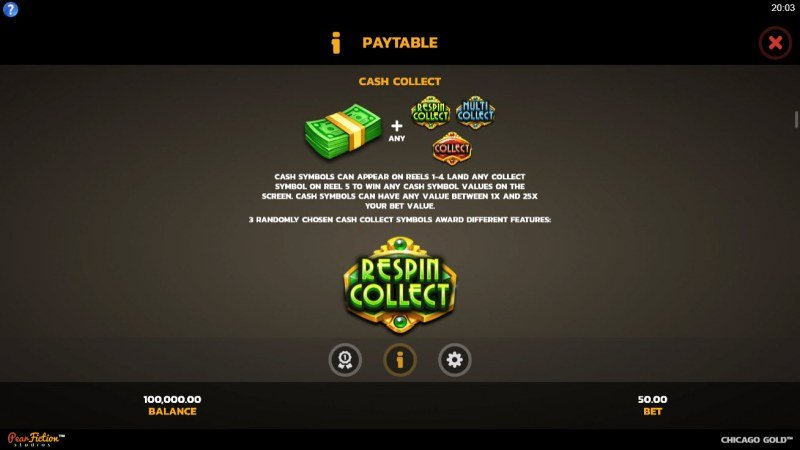 Chicago Gold :: Cash Collect
