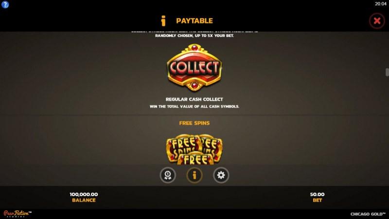 Chicago Gold :: Regular Cash Collect