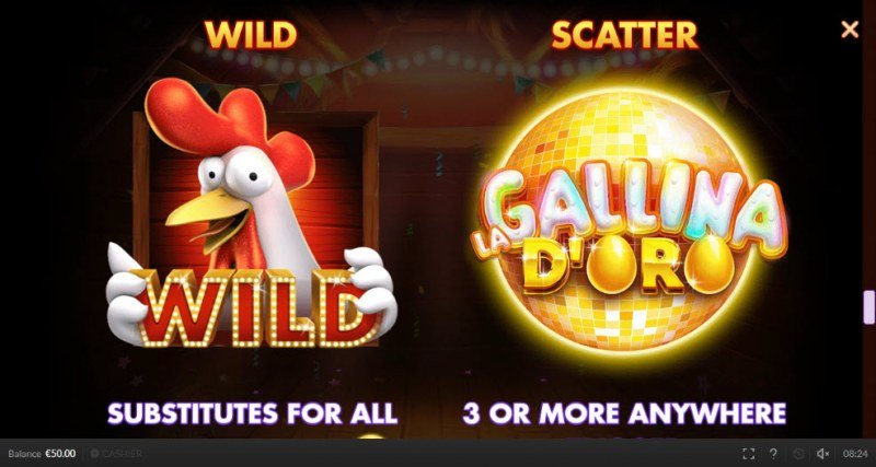 Chicken Fiesta :: Wild and Scatter Rules