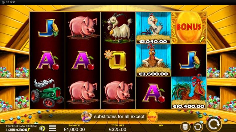 Chicken Fox 5x Skillstar :: Main Game Board