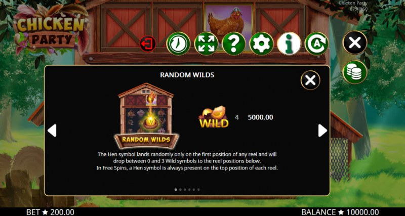 Chicken Party :: Random Wilds