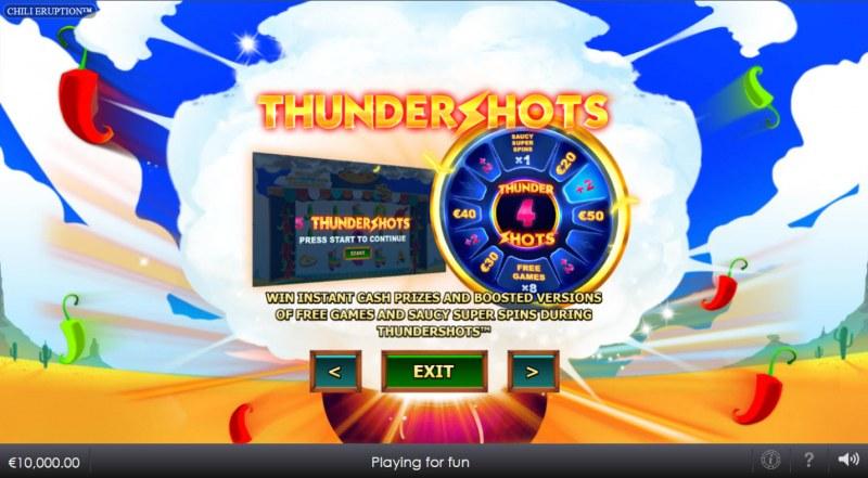 Chili Eruption Thundershots :: Thundershots