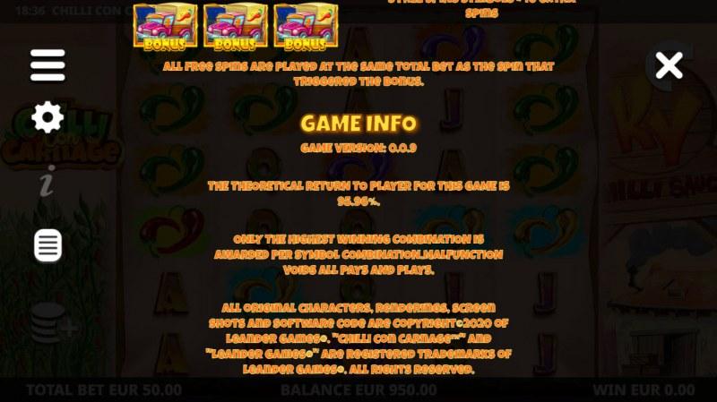 Chilli Con Carnage :: Game Info
