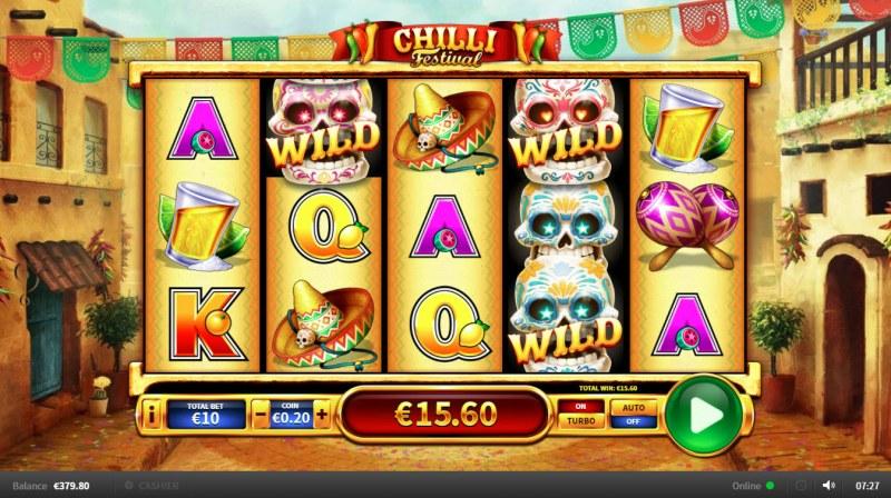 Chilli Festival :: Multiple winning paylines
