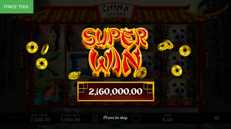 China Charms :: Super Win