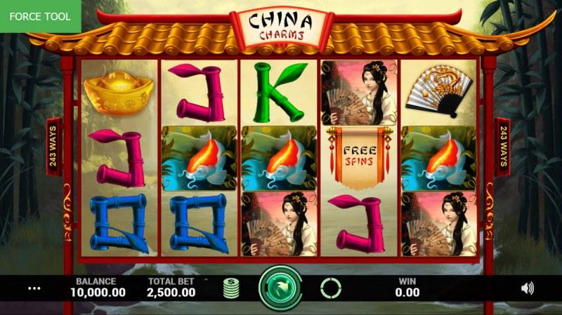 China Charms :: Main Game Board