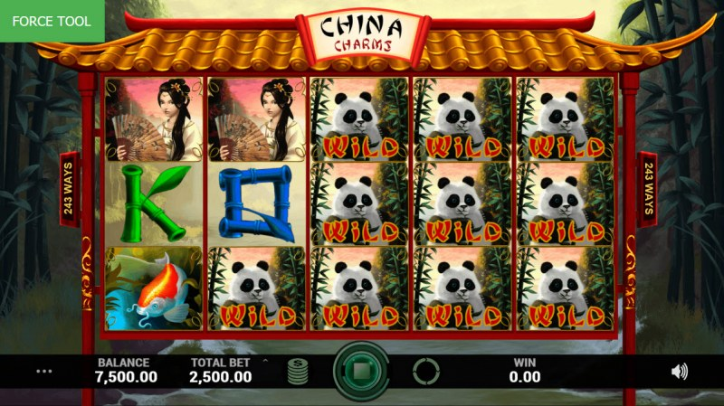 China Charms :: Multiple winning combinations leads to a super win